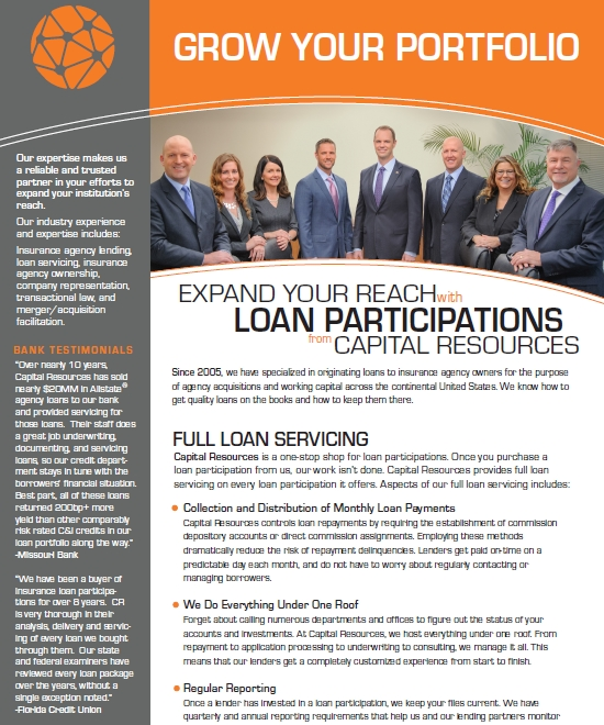 loan participation resources